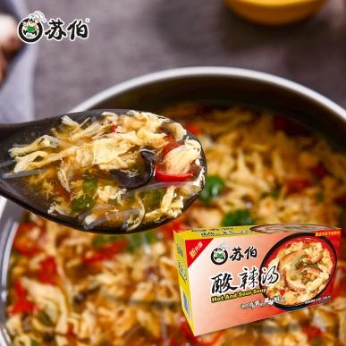 北京酸辣汤盒装速食汤