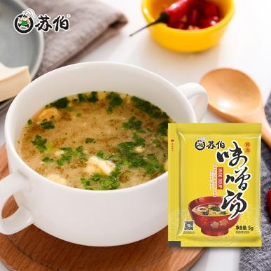 味增汤5g速食汤