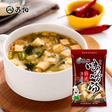 日式味增速食汤