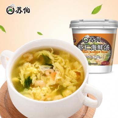 虾仁海鲜杯装10g速食汤