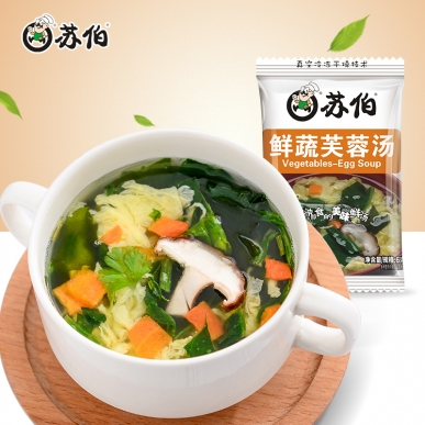 鲜蔬蛋花汤6g速食汤