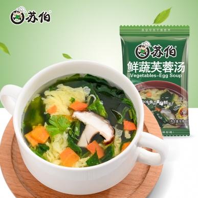 鲜蔬蛋花汤8g速食汤