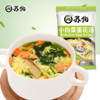 小白菜蛋花汤6g速食汤