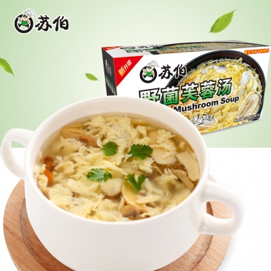 潍坊盒装野菌芙蓉蛋花速食汤