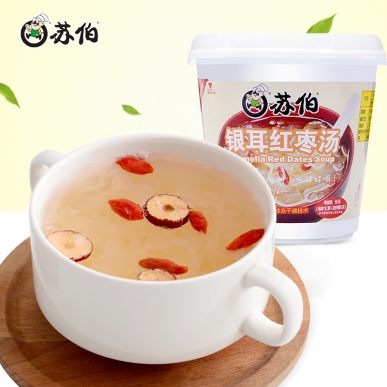 广州杯装银耳红枣速食汤