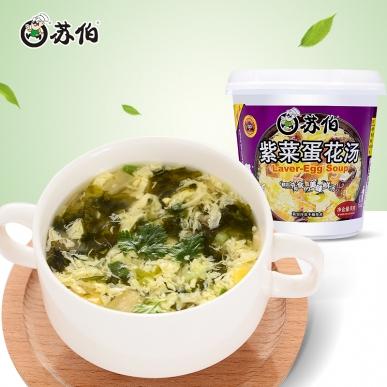 杯装紫菜蛋花速溶汤