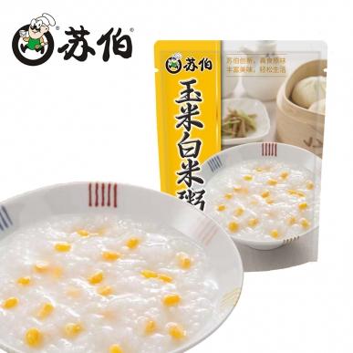 玉米白米粥