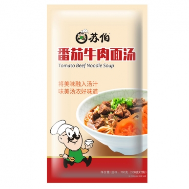 上海番茄牛肉汤面