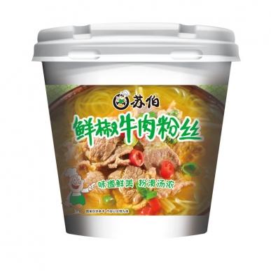 上海鲜椒牛肉粉丝