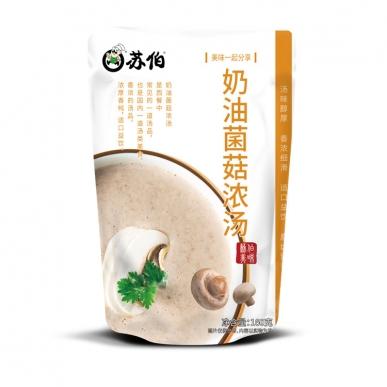 上海奶油菌菇浓汤