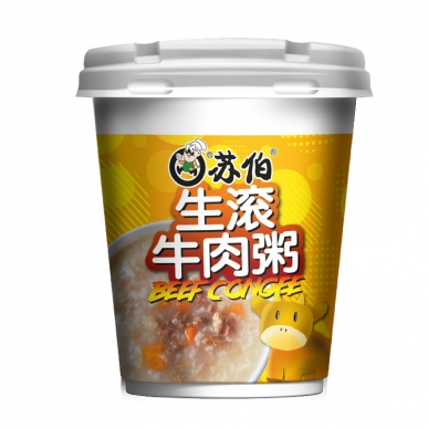 上海生滚牛肉粥