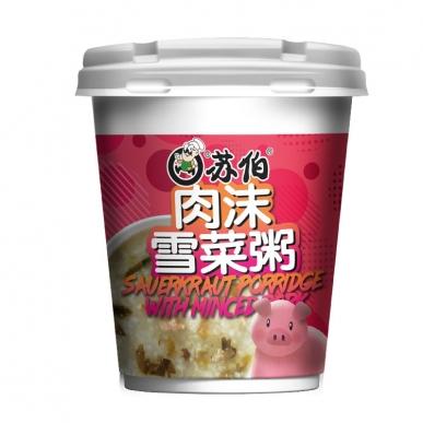 上海肉沫雪菜粥